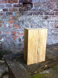 solid wood door stop
